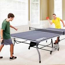 amazon com espn tennis table ping pong game room 4 piece toys