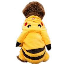 Pikachu Halloween Costume Men Amazon Pawz Road Cartoon Design Pet Costume Small Dog