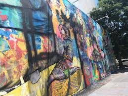 david choe mural whitewashed on les after outcry over rape it is unclear who is responsible for covering the wall but in an instagram post on sunday choe uploaded a photo of a white paint roller covering what