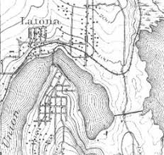 seattle map eastlake harvey pike starts to dig a canal connecting seattle s union and