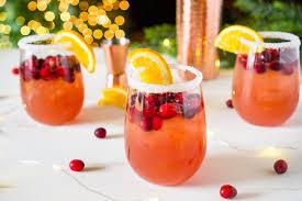 orange cranberry margarita easy cocktail the nerds