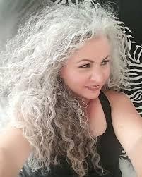 naturally curly gray hair 20 more long naturally curly hairstyles crazyforus