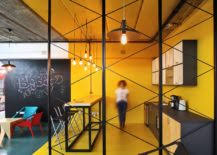 Office Kitchen Designs A World Of Color And Creative Design Modern Industrial Office In