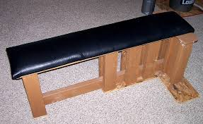 Plans For Building A Wood Bench by Homemade Strength The Strongest Bench You U0027ll Never Buy