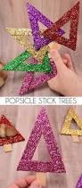 modern popsicle stick christmas tree ornaments dream a little bigger