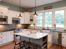 Kitchens With Tile Backsplashes Travertine Backsplashes Hgtv