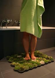 badezimmer teppiche moosteppich im bad fördert die gesundheit everyday feng shui