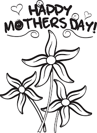 coloring pages mothers day flowers free printable mother s day flowers coloring page for kids 2