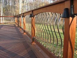 Deck Handrail Arched Balusters Deck Railing Railing Styles Pinterest Deck