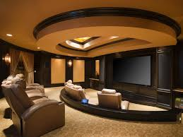 makeovers and cool decoration for modern homes home theater