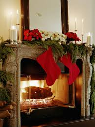 28 christmas mantel decorating ideas mantle mantels and hgtv