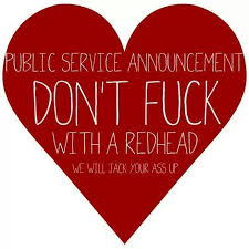 red public hair pics public service announcement don t fuck with a redhead we will
