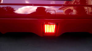 nissan 370z rear bumper evo r red foglight for my nissan 370z touring sport navigation in