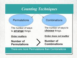 algebra 2 permutations and combinations worksheet probability on