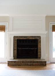 How To Update Brick Fireplace by Gypsy Magpie Finished The Fireplace U2026finally Mantles For My Ugly