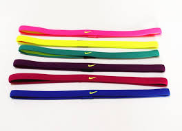 basketball headbands muticolor swoosh sports headbands non slip silicone sweat headband