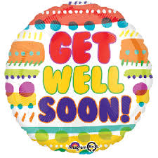 get well soon balloons delivery 18 get well soon helium foil balloon delivery in dubai abu dhabi