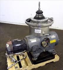 10 hp westfalia sb 14 06 076 disc centrifuge 12175 new used