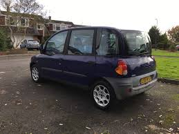 fiat multipla top gear 6 seat fiat multipla 1 9 diesel mpv estate car 130k 9 mot history