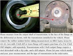 lexus gs300 vs toyota aristo 3 in steel 1pc driveshaft