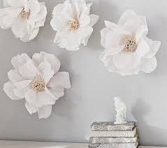 White Flower Wall Decor Zspmed Of Flower Wall Decor Nice For Small Home Decor Inspiration