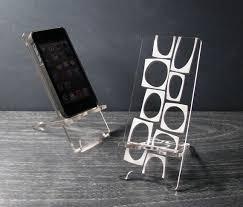 Acrylic Desk Accessories Mid Century Modern Abstract Acrylic Desk Accessories 5 Sizes