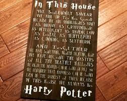 Harry Potter Home Harry Potter Decor Etsy