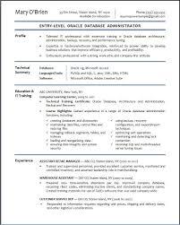 Java Web Developer Resume Sample by Resume For Oracle Developer Resume For Your Job Application