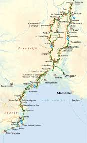 Carcassonne France Map by Cycling Unlimited