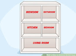 18 inch doll kitchen furniture how to an doll house with pictures wikihow