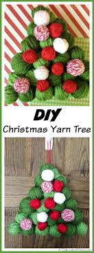 diy yarn tree