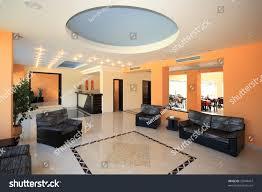 luxury hotel lobby reception area imagen de archivo stock
