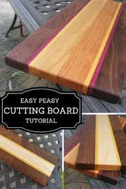 best 25 wooden cutting boards ideas on pinterest wood cutting learn how to make this easy peasy wooden cutting board only using 3 simple tools