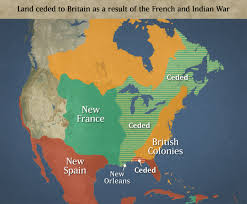 america map before and after and indian war chapter 5 toward independence