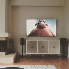 wife agreed to let me put speakers in the living room paradigm