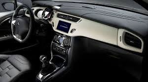 hatchback cars inside citroen ds3 interior revealed video