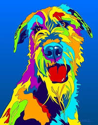 afghan hound ireland shop for woof woof at multi color dog prints afghan afghan