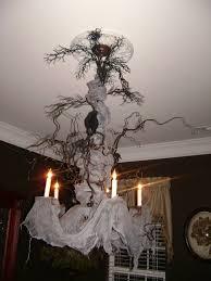 creepy home decor decor amazing creepy tree branch chandelier halloween party