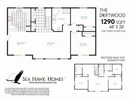 ranch floor plans with basement one level house plans with basement new single story ranch basements