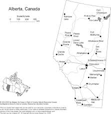 Alaska Cities Map by Alberta Canada Province State Printable Blank Map Names