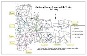 Printable Map Of Wisconsin by Wisconsin Snowmobile Trail Maps