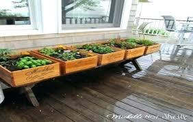 Herb Garden Idea Deck Herb Garden Ideas Deck Herb Garden Plans Financeintl Club