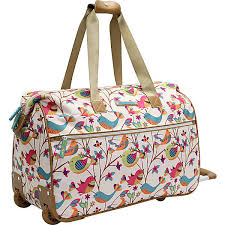 lilly bloom bloom tweety twig wheeled weekender ebags
