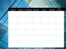 download professional 2017 year calendar calendar templates free
