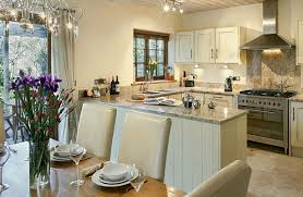 Room With Kitchen by Riverside Cottage Holiday Cottages In Cornwall