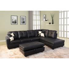 Black Living Room Sets  Collections Sears - Black living room set