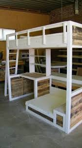 Bunk Bed Loft With Desk Bunkbed With Desk And Fold Out Extra Bed Just Add 2 Square Lounge