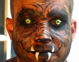 werewolf makeup tutorial male easymeworld halloween werewolf face painting tutorial
