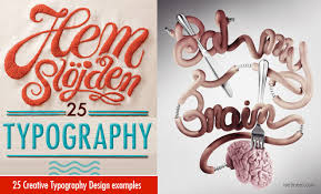 25 Examples Of Creative Graphic by Best And Creative Typography Design Examples For Your Inspiration
