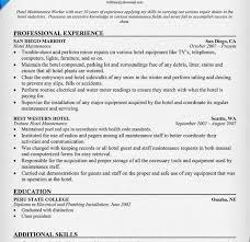 Sample Resume For Custodial Worker by Building Maintenance Job Resume Construction Worker Resume Sample